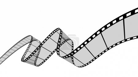Bande de film. Image vectorielle