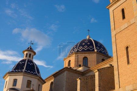 Domes of Altea church