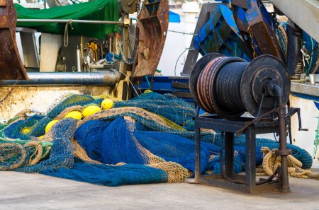 fishing boat and equipment