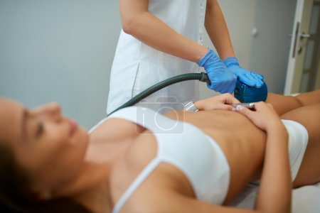 cosmetic beauty treatment  at spa clinic