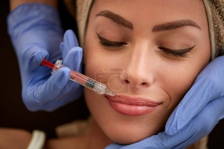 beauty and Lips botox