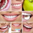 Teeth and smile collage...