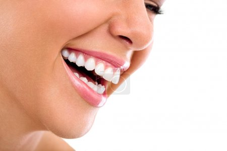 Photo for Healthy female teeth and smile - Royalty Free Image