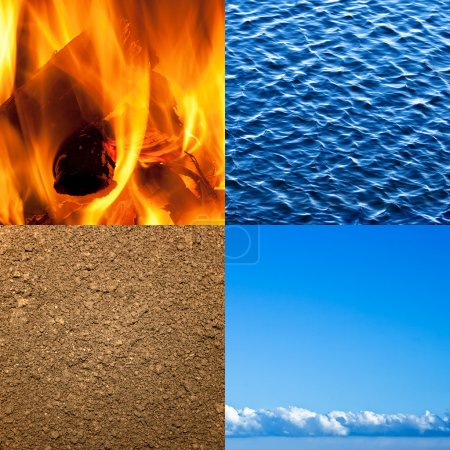 Four elements of nature