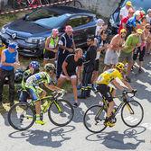 Yellow Jersey on Col du Glandon - Tour de France 2015