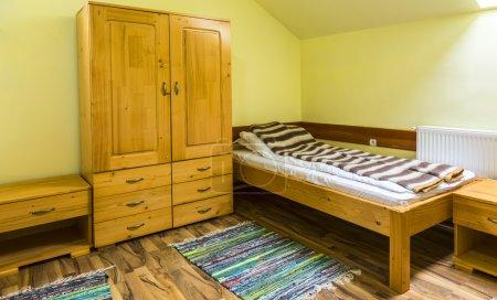 Clean hostel room