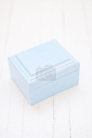 Blue box for wedding rings