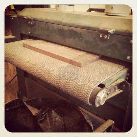 Woodworking sanding machine