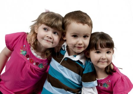 Three Adorable little kids