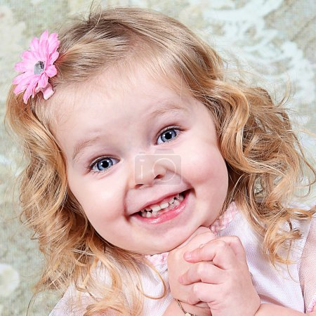 Beautiful Little Girl Posing