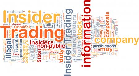 Photo pour Modèle de texte de fond concept wordcloud illustration de délit d'initié - image libre de droit