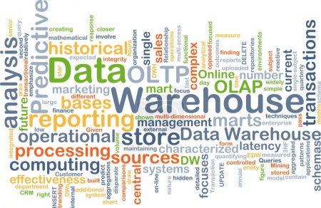 Data warehouse background concept