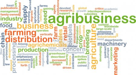 Agribusiness background concept