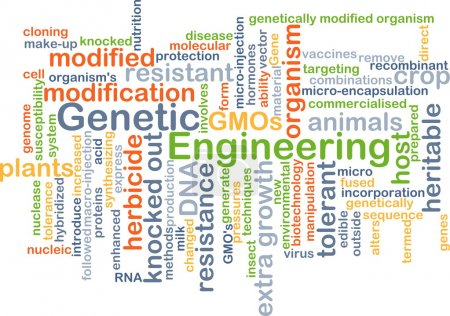 Genetic engineering background concept