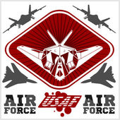 US Air Force - Military Design vector illustration