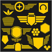 Military symbol icons - vector set