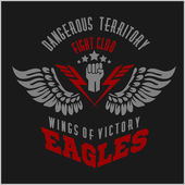 Eagle wings - military label badges and design elements