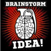 Brainstorm - idea  Brain Grenade
