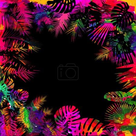 Illustration for Summer vacation design background - Royalty Free Image