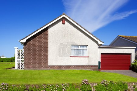 Photo for English house with garage - Royalty Free Image