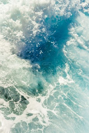 Background shot of clear sea water surface