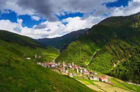Old mountain village