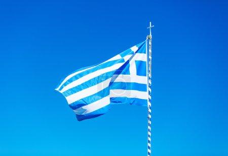 photo of the greek flag