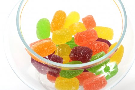 Soft jelly candies