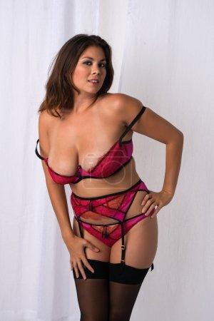 Rose lingerie