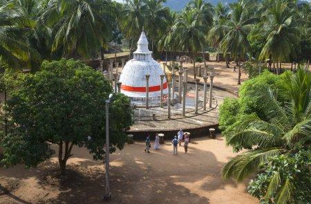 Ambasthale Dagoba on Mango plateau. Mihintale, Sri Lanka