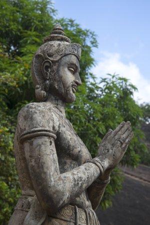 Sculpture of king Devanampiyatissa. Mihintale, Sri Lanka