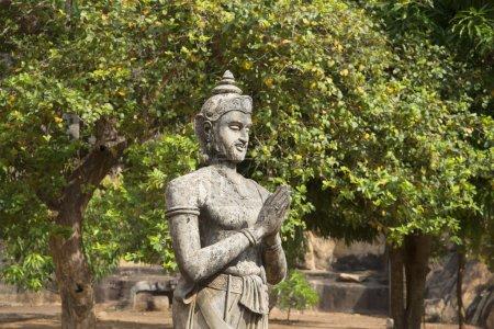 Sculpture of king Devanampiyatissa on Mango plateau. Mihintale, Sri Lanka
