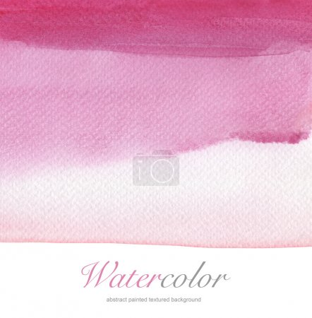 Photo for Abstract watercolor hand painted background. Textured paper. - Royalty Free Image