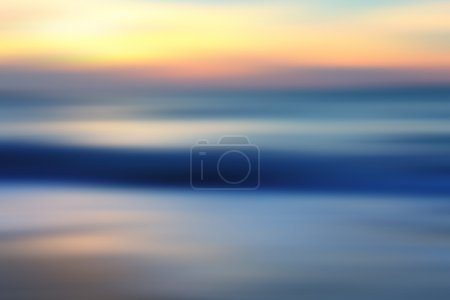 Abstract blur nature background. Soft focus. Watercolor paper ov