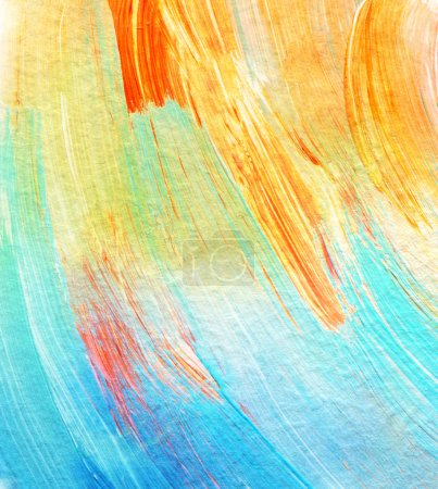 Photo for Abstract acrylic and watercolor painted background. Texture paper. - Royalty Free Image