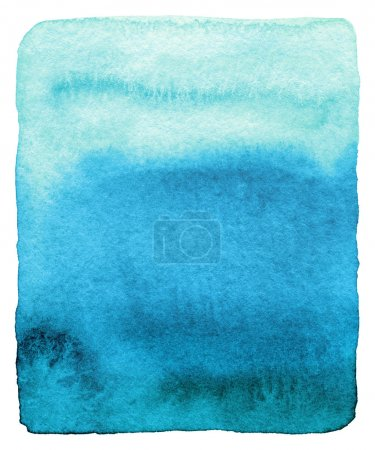 Photo for Abstract watercolor painted background. Grunge wet paper template. - Royalty Free Image