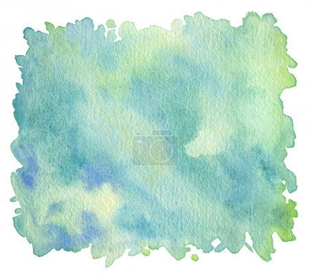 Photo for Abstract acrylic and watercolor brush strokes painted background. Texture paper. - Royalty Free Image