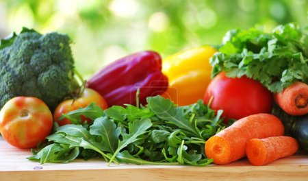 Photo for Vegetables on table - Royalty Free Image
