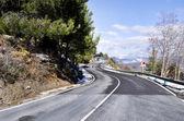 mountain road, sierra nevada, Spain