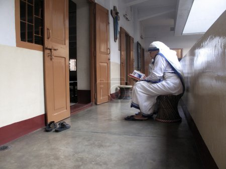 Sisters of Mother Teresa's Missionaries of Charity...