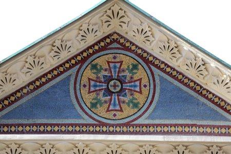 Cross, Greek Catholic Church of Saints Cyril and Methodius in Zagreb