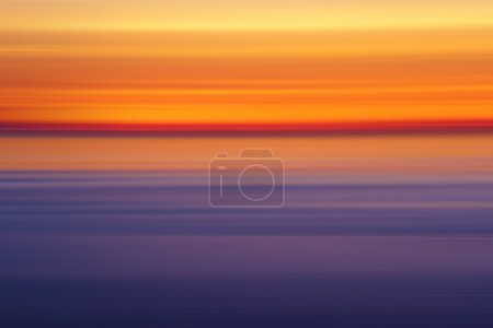 abstract sunset colors