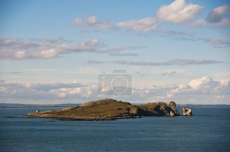 Ireland's eye island.