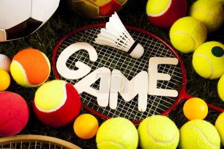Sports balls and equipment