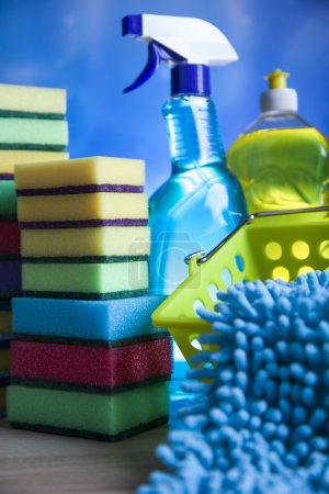 Assortment of Cleaning products
