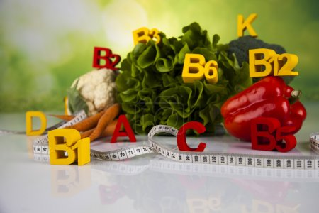 Vitamin concept, Health and fitness concept