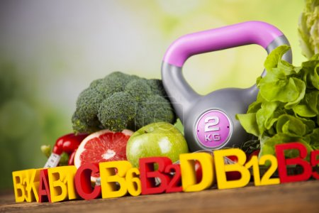 Photo for Vitamin concept, Health and fitness concept - Royalty Free Image