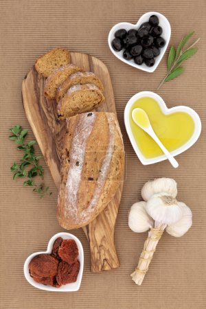 Tomato and Olive Rustic Bread