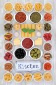 Středomořská strava potravin