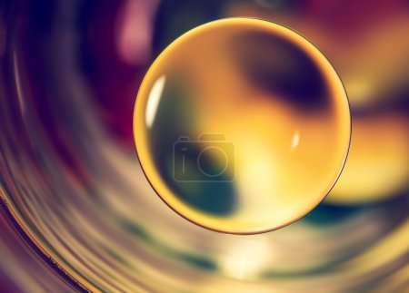 Photo for Nature background, abstract water drops macro. - Royalty Free Image